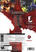 Dragon Age: Origins - Awakening Windows Back Cover