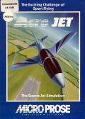 Acrojet Commodore 64 Front Cover