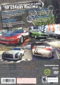 Need for Speed: ProStreet PlayStation 2 Back Cover