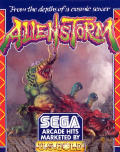 Alien Storm Commodore 64 Front Cover