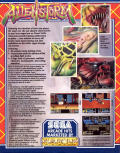 Alien Storm Commodore 64 Back Cover
