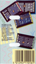 Amaurote Commodore 64 Back Cover