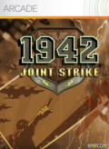 1942: Joint Strike Xbox 360 Front Cover