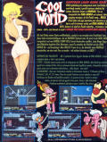 Cool World Commodore 64 Back Cover