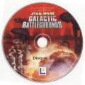 Star Wars: Galactic Battlegrounds Windows Media Disk 2/2 play disk