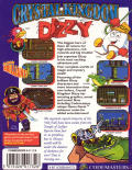 Crystal Kingdom Dizzy Commodore 64 Back Cover