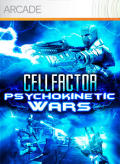 CellFactor: Psychokinetic Wars Xbox 360 Front Cover