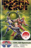 Enigma Force Commodore 64 Front Cover