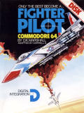 Fighter Pilot Commodore 64 Front Cover