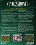 Civilization II (Multiplayer Gold Edition) Windows Back Cover