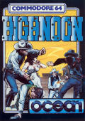 Highnoon Commodore 64 Front Cover