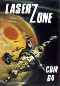 Laser Zone Commodore 64 Front Cover