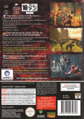 Prince of Persia: Warrior Within GameCube Back Cover