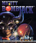 Mighty Bombjack Commodore 64 Front Cover