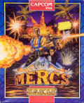 Mercs Commodore 64 Front Cover