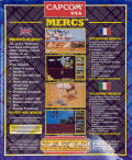 Mercs Commodore 64 Back Cover