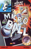 Microball Commodore 64 Front Cover