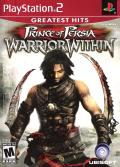 Prince of Persia: Warrior Within PlayStation 2 Front Cover