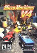 Micro Machines V4 Windows Front Cover