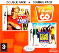 Disney on the Go - Double Pack: Cory in the House / High School Musical: Makin' the Cut! Nintendo DS Front Cover