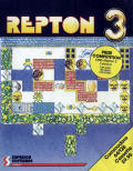 Repton 3 Commodore 64 Front Cover