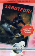 Saboteur Commodore 64 Front Cover