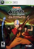 Avatar: The Last Airbender - The Burning Earth Xbox 360 Front Cover