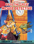 Basil the Great Mouse Detective Commodore 64 Front Cover