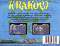 Krakout Commodore 64 Back Cover