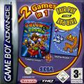 2 Games in 1: Columns Crown + ChuChu Rocket! Game Boy Advance Front Cover