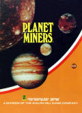 Planet Miners Apple II Front Cover