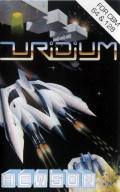 Uridium Commodore 64 Front Cover