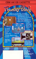 ThunderBlade Commodore 64 Back Cover