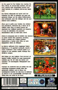 Golden Axe: The Duel SEGA Saturn Back Cover