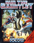 Run the Gauntlet Commodore 64 Front Cover