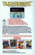 Buck Rogers: Planet of Zoom Commodore 64 Back Cover