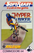 Hyper Biker Commodore 64 Front Cover
