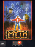 Myth: History in the Making Commodore 64 Front Cover