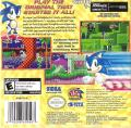 Sonic the Hedgehog Game Boy Advance Back Cover
