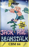 Jack and the Beanstalk Commodore 64 Front Cover