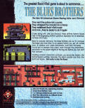 The Blues Brothers Commodore 64 Back Cover