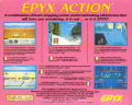 Epyx Action Commodore 64 Back Cover