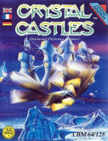 Crystal Castles Commodore 64 Front Cover