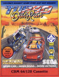 Turbo Out Run Commodore 64 Front Cover