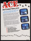 ACE: Air Combat Emulator Commodore 64 Back Cover