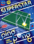 Superstar Ping Pong Commodore 64 Front Cover