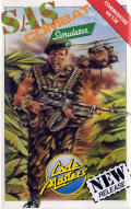 SAS Combat Simulator Commodore 64 Front Cover