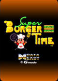 Super Burger Time Zeebo Front Cover