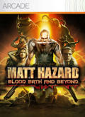 Matt Hazard: Blood Bath and Beyond Xbox 360 Front Cover
