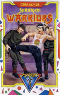 Shanghai Warriors Commodore 64 Front Cover